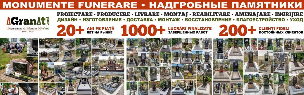 iGranit.md - Monumente funerare